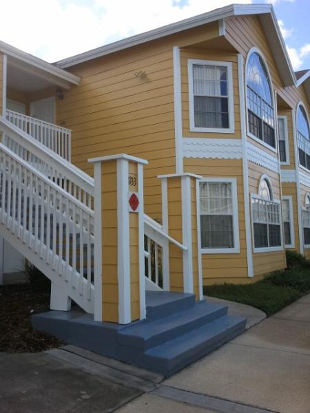 Condo entrance - 2nd Floor unit - Disney Vacation Condo - stay 6 days get 7th FREE - Four Corners - rentals