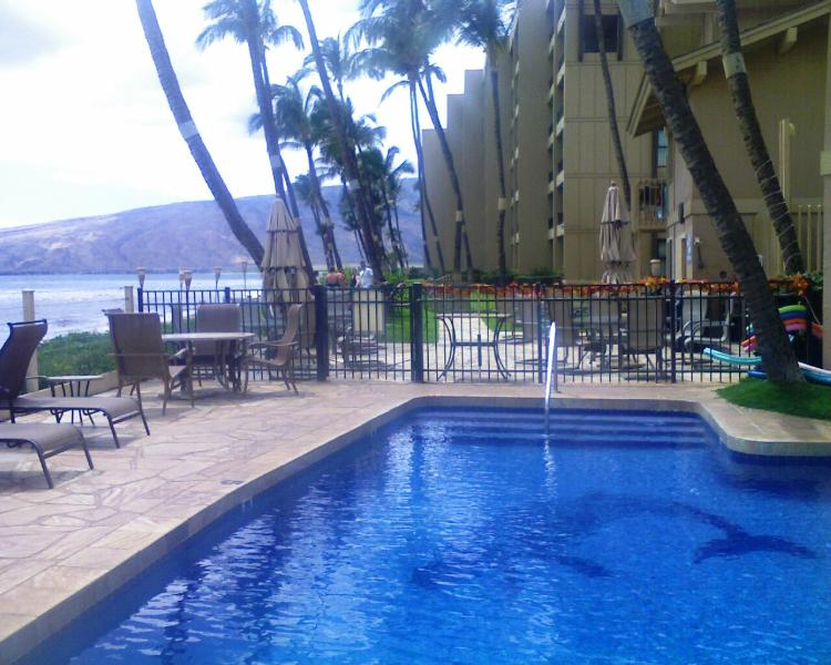 oceanfront pool - 3 bedr On Long Sandy White Beach Sugar Beach Kihei - Kihei - rentals