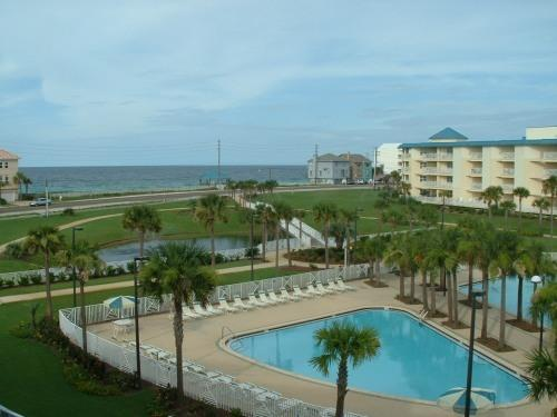 Gulf View from Balcony - Amalfi Coast 2 BR Gulf View Condo W Private Beach - Miramar Beach - rentals