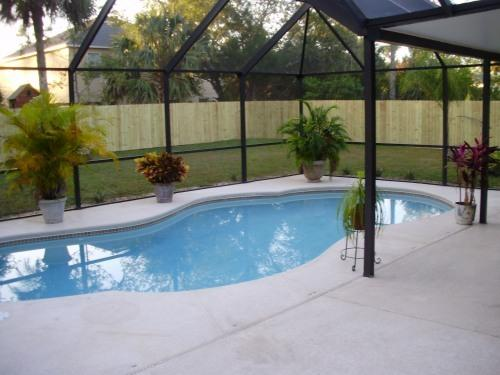 36' X 36'Screened Patio with Pool/ Solar Heated - Nice Clean, 3 Bdrm Pool Home, Close to Beach - Palm Coast - rentals