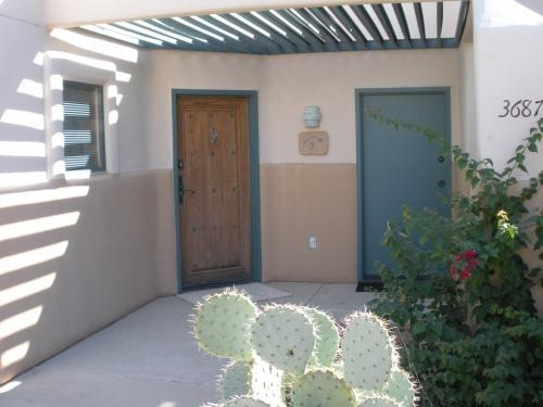 Private patio entrance w/ two doors - Luxury Condo/Starr Pass Resort/50 % Golf Discount - Tucson - rentals
