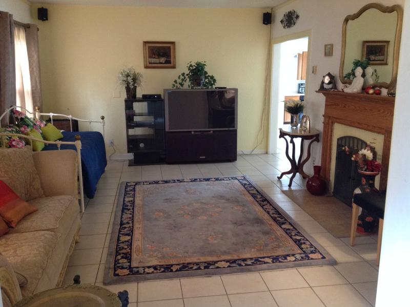 Living Room - Peaceful Manor 1 block to Clearwater Country Club! - Clearwater - rentals