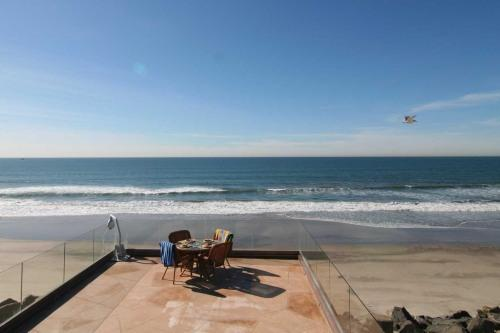 Exquisite 10BR Beach Front Rental San Diego P328-X - Image 1 - Oceanside - rentals