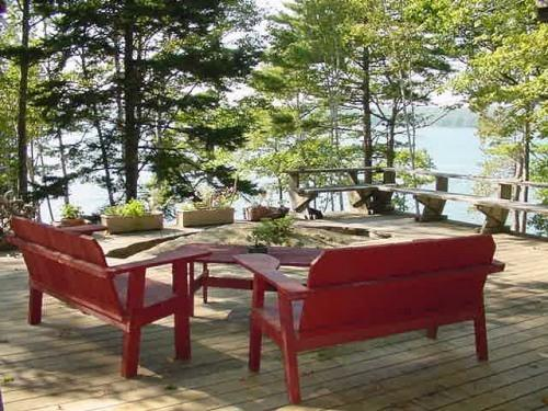 deck - Secluded, waterfront deckhouse with panoramic view - Brunswick - rentals