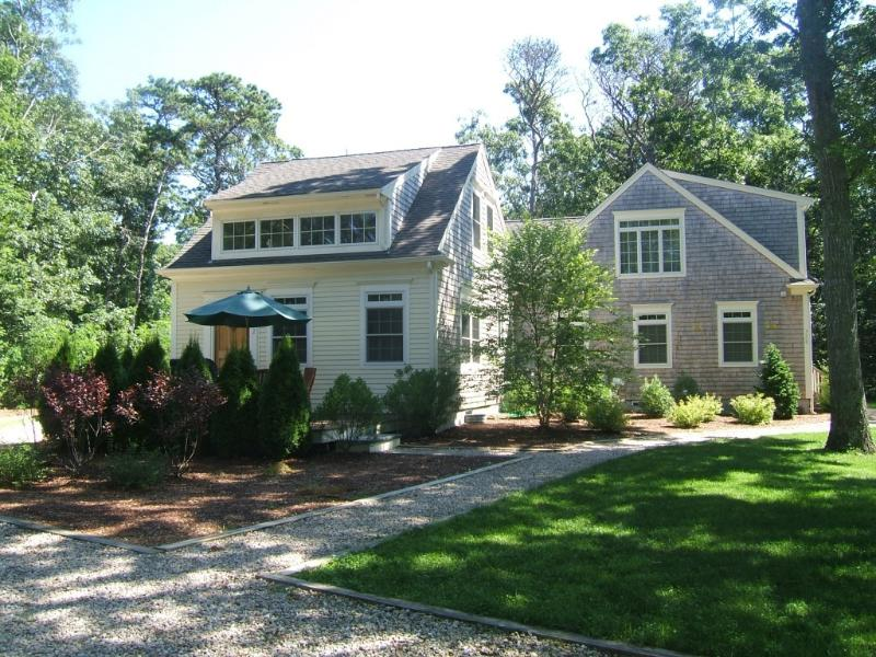 Front of the new 2 bed, 2 bath home - Three homes, one property. Walk to the beach. - Eastham - rentals