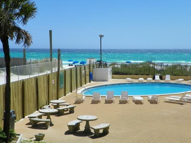 Balcony/Living Room View - Gulf Front Vacation Rental in Panama City Beach - Panama City Beach - rentals