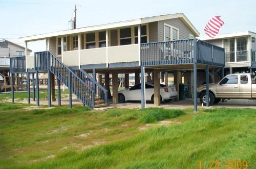 Outside View - Galveston Beachfront Vacation Home on West Beach - Galveston - rentals