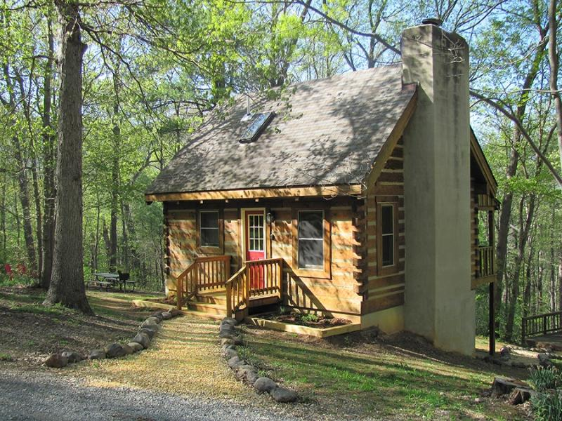 Falling Leaf Cabin - Secluded With Beautiful Mountain View - Image 1 - Rileyville - rentals