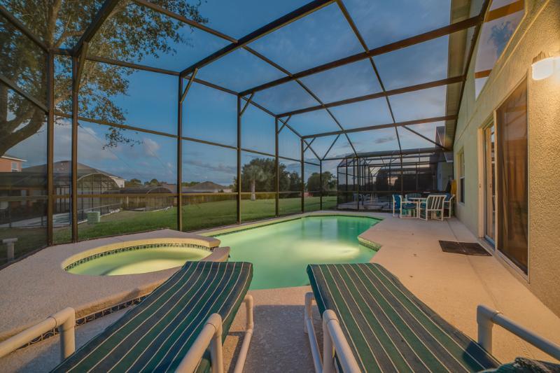 Luxury 5B 3B Villa w/ South Pool 3miles to Disney - Image 1 - Four Corners - rentals