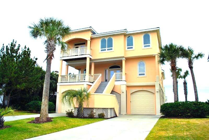 Luxury Oceanfront Beach house w/ Pool & Hot tub! - Image 1 - Myrtle Beach - rentals