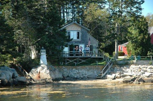Island View Spruce Head Maine Lighthouse Cottage - Image 1 - South Thomaston - rentals