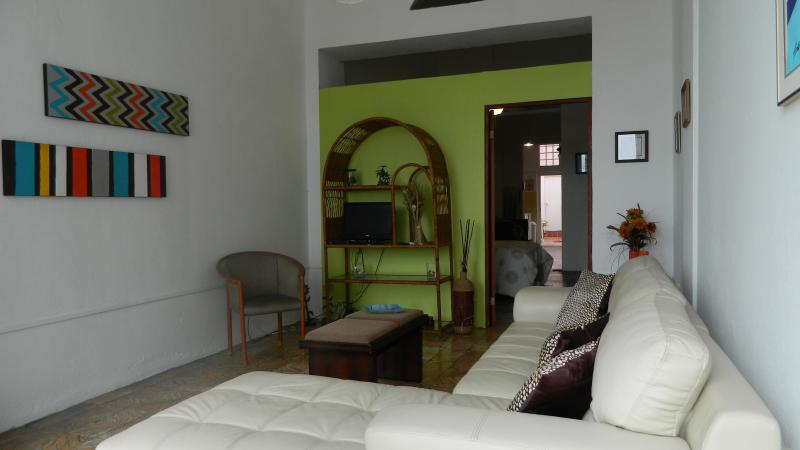 Living room - Stay in Lovely Comfortable Apt at Old San Juan - San Juan - rentals