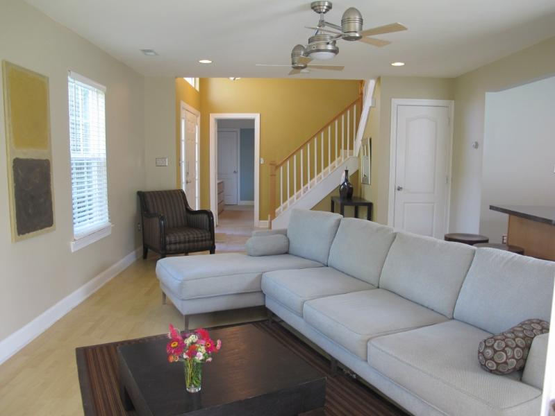 Living room - Chic and affordable 4 bedroom home, bike to beach! - Rehoboth Beach - rentals