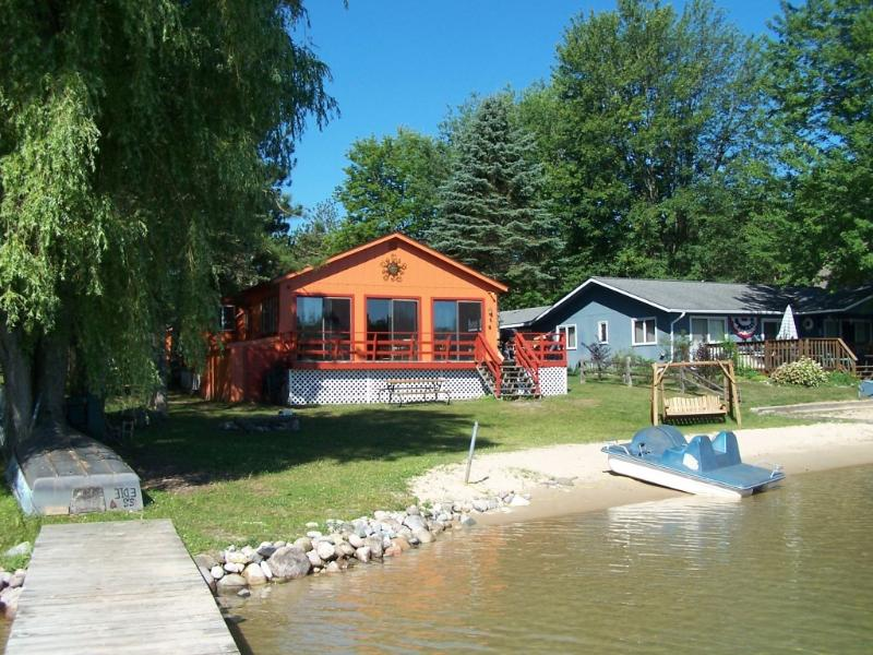 View from dock - Now Booking Summer 2017 - Central Lake - rentals