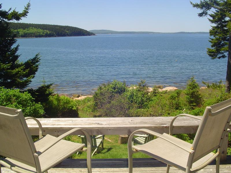 Looking Across the Bay to Bar Harbor - Cozy Cottage, Amazing Oceanfront, Perfect Getaway! - Winter Harbor - rentals