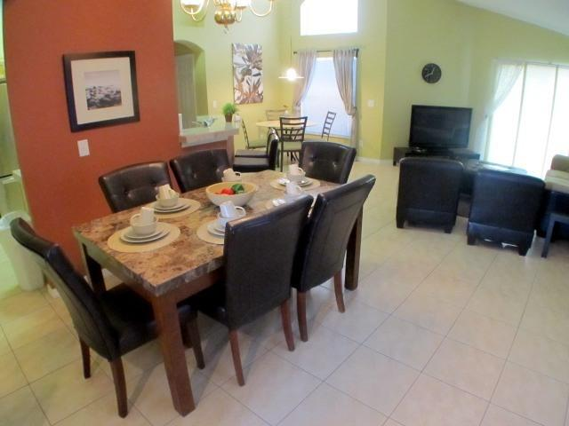 "Enjoy a memorable dinner in the luxury dining area - Terra Verde Resort-T2K villa pool/spa!, 50"" Plasma - Kissimmee - rentals"