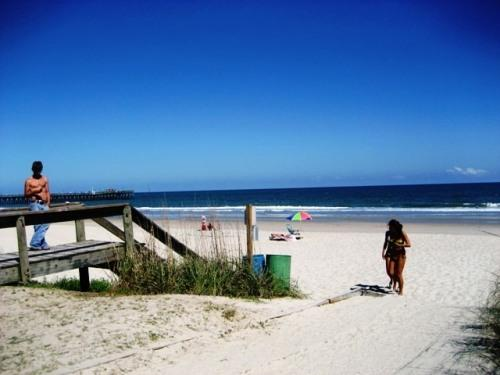 OUR BEACH 150 FT. FROM CONDO - Pet-Friendly Oceanfront 2 Bedroom Condo, Newly Renovated and with WiFi - Myrtle Beach - rentals