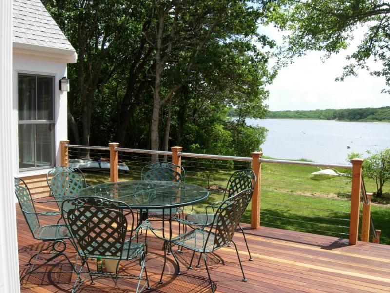 View from Deck - Waterfront-Martha's Vineyard - Edgartown - rentals
