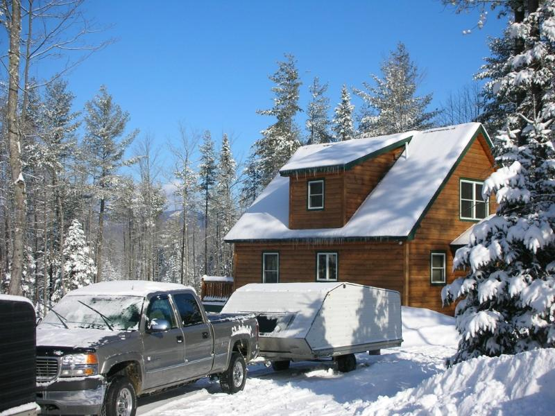 4 Bed Log Home in the western mountains of maine - Image 1 - Bethel - rentals