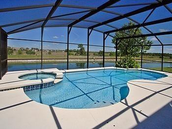 Private Lakeview Pool/Spa - Lake Front Villa - Beautiful View - 7BR + 4.5BA - Four Corners - rentals