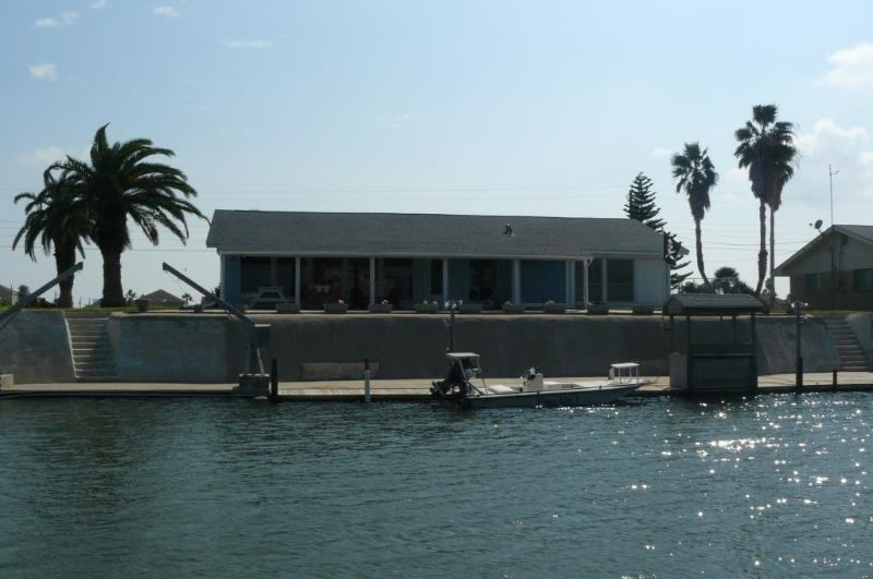 Canal Side of Home - Rockport Canal Home with Dock - Rockport - rentals