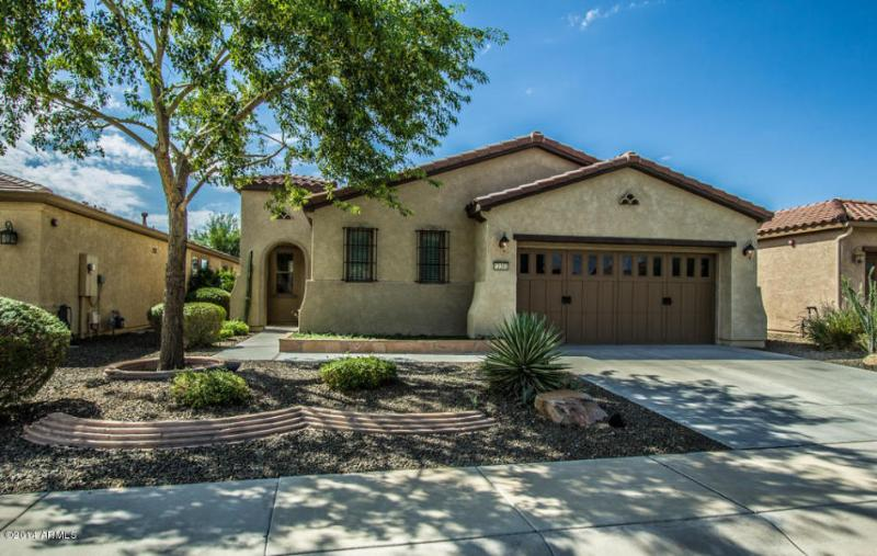 Front of the House Facing North - Beautiful Furnished Home in Gated Adult Community - Peoria - rentals