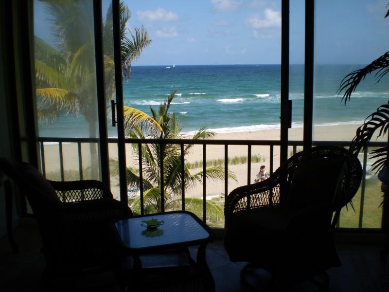 Ocean view - Spectacular Beach Condo - Hillsboro Beach - rentals