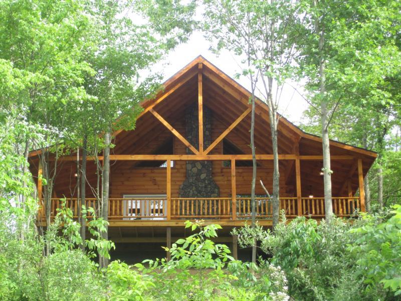 Secluded log cabin - sleeps 4 - Image 1 - Hocking Hills - rentals