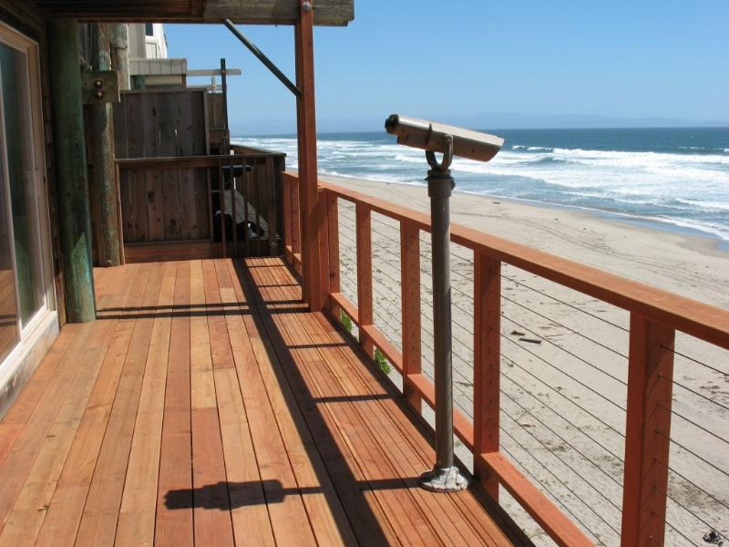 4000+ SQ FT SANDY BEACH FRONT VACATION HOME - Image 1 - Santa Cruz - rentals