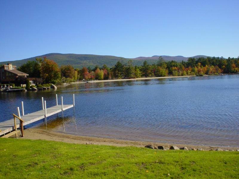 "Beach and views - "" WINNIPESAUKEE  NH "" WATER FRONT MT.VIEW DOCK - Moultonborough - rentals"