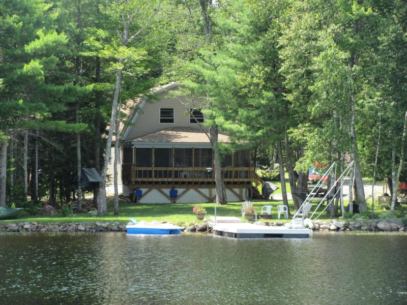 House from lake - Tranquil Lake Front Home on Long Pond - Lincoln - rentals