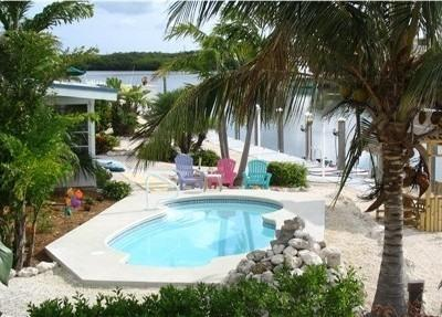 Pool View - Tropical Mystique-Free Heated Pool-Wide Canal - Marathon - rentals