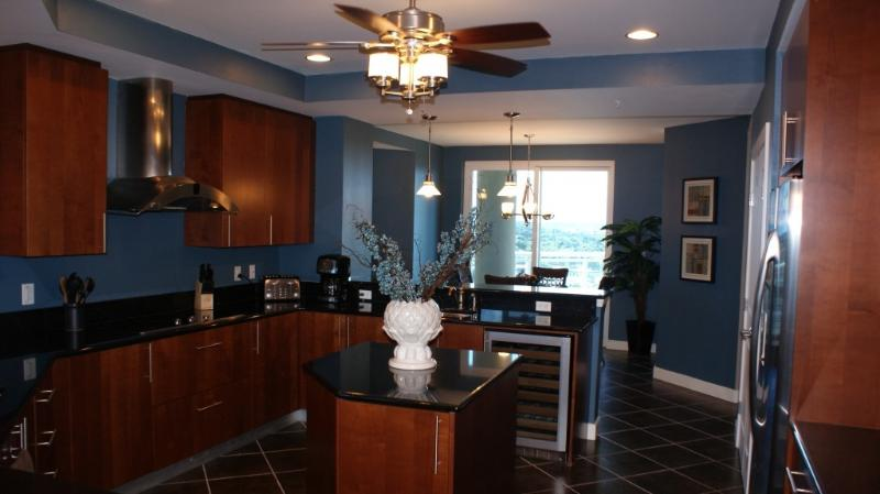 Gourmet Kitchen - 5 Star Luxury Million $ Ocean Front Condo - Daytona Beach - rentals