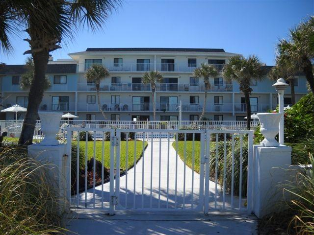 Condo Front View - Oceanfront Condo with Fabulous, Unspoiled Beach - Flagler Beach - rentals