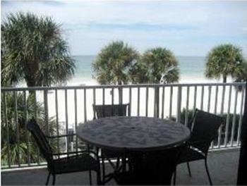 Our Wide Beach - Balcony View - Has it All !!!! - Sand Castle II End Wrap Balcony - Indian Shores - rentals
