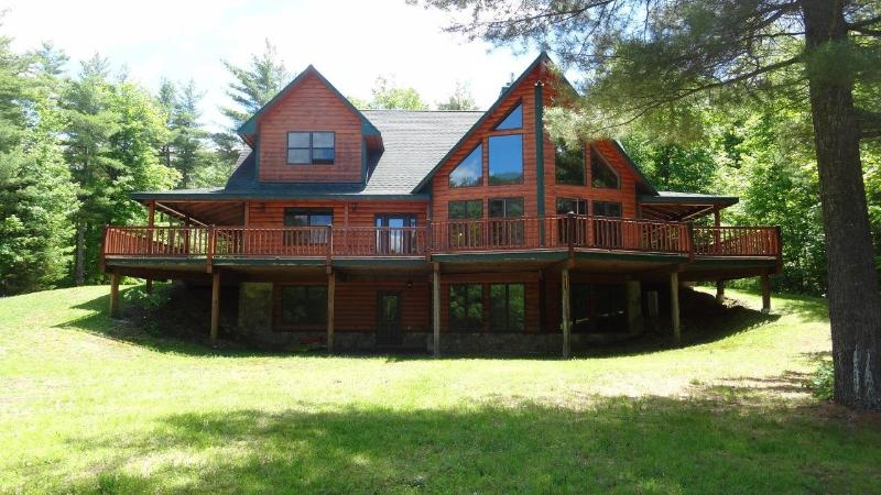 Spectacular Home, Amazing Views, Hot Tub & Sauna, Near Whiteface & Lake Placid - Image 1 - Upper Jay - rentals