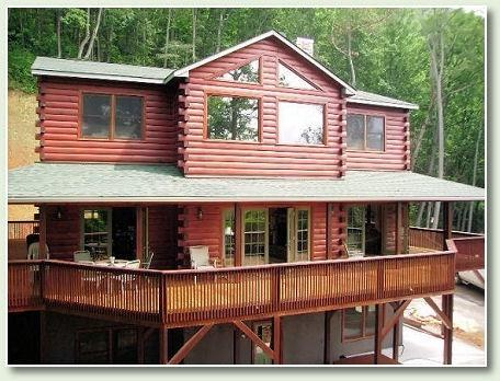 Mountain View Deck - Tree Tops at Bench Mountain--HOT TUB & WiFi - Franklin - rentals