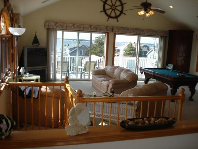 Great Room View - Cape Cod Rental - Spectacular Views High Above Bay - Pocasset - rentals