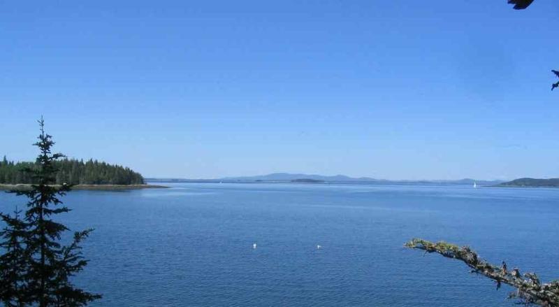 View from Master Bedroom - Waterfront on Penobscot Bay! Amazing Sunsets - Brooksville - rentals