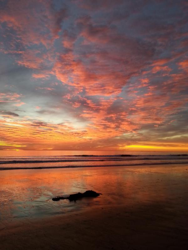 low tide sunset - vacation beach rental at oceanside ca - Oceanside - rentals