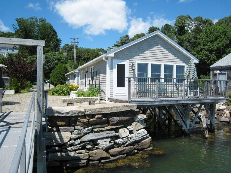 ON the water! - ON the water!...  Overlooking Freeport Harbor - Freeport - rentals