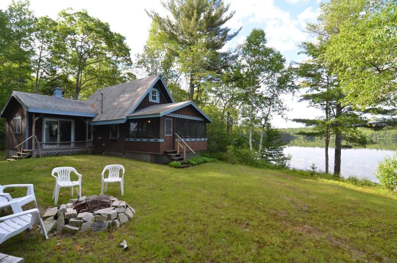 Waterfront Cottage on Patten Pond - Image 1 - Ellsworth - rentals