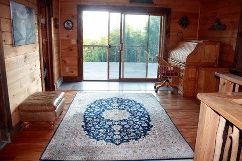 Upstairs Hallway With Deck Entry - Lexington Vacation Rental house - Prattsville - rentals