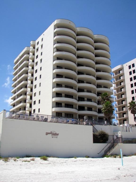 Our condominium seen from the beach - Daytona Beach - Beach Dream Condo - Daytona Beach Shores - rentals