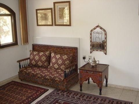 Couch in Moroccan room - Jerusalem GEM Rental Property - Jerusalem - rentals