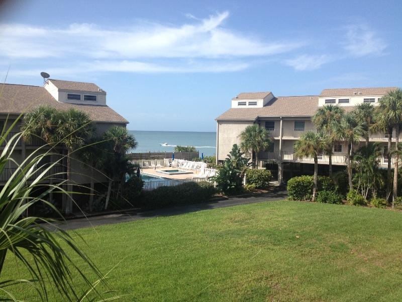 View from front bedroom - Beachside vacation condo on beautiful Manasota Key - Englewood - rentals