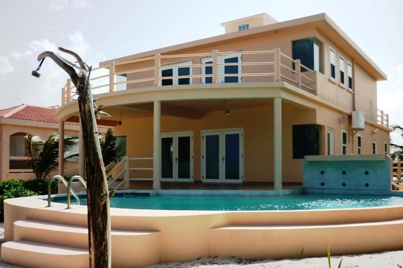 Front of House - Spacious 3bd Beach Villa with Private Pool - San Pedro - rentals