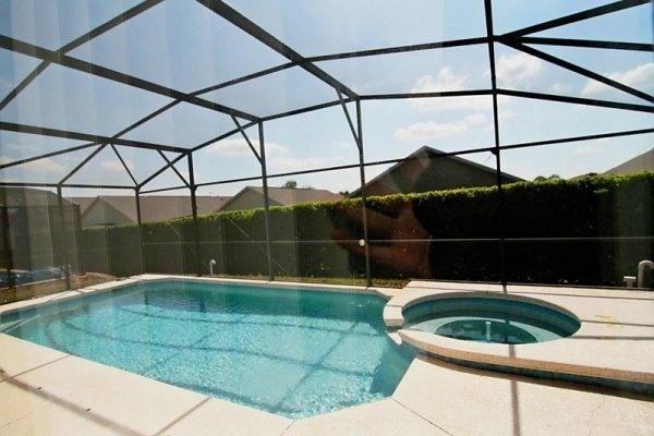 Luxe Villa 4br/3.5ba, Private Southfacing Pool/Spa - Image 1 - Four Corners - rentals