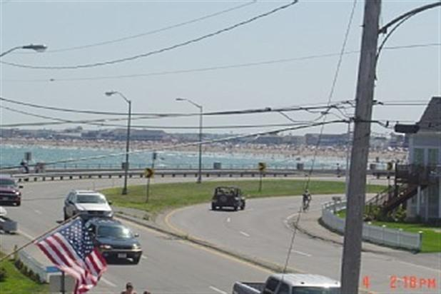 View from Private Deck - Dreamy Paradise Vacation overlooking Hampton Beach - North Hampton - rentals