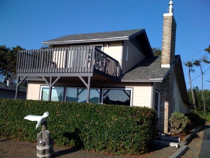 Home front - Ocean View Home, 100 yards to the beach - Gleneden Beach - rentals